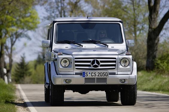 Luxus-Geländewagen: So präsentiert sich das G-Modell heute (Foto: Daimler AG)