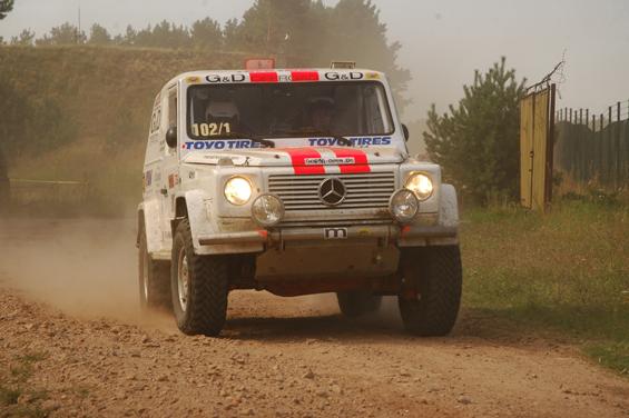 Toyo Tires war Hauptsponsor des ersten 24-Stunden-Rennens für Offroader in Deutschland (Foto: Toyo)