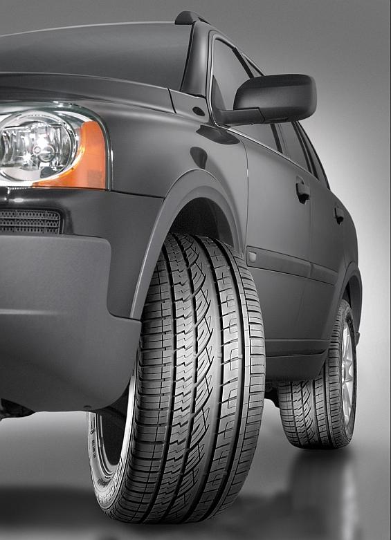 Überzeugte die Reifentester der Auto Zeitung: ContiCrossConatct UHP (Foto: Continental)